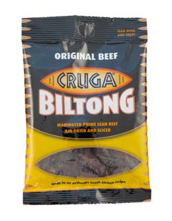Cruga Sliced Biltong - Traditional Beef (190g)