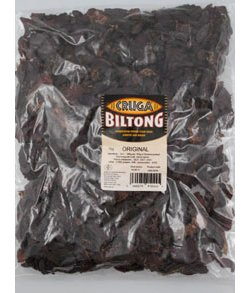 Cruga Sliced Biltong - Traditional Beef (1kg)
