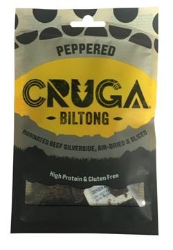 Cruga Sliced Biltong - Peppered (35g)
