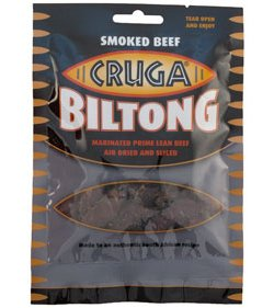 Cruga Sliced Biltong - Smoked (100g)