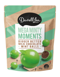 Darrell Lea Chocolate Bites - Mega Minty Moments (185g)