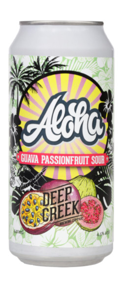 Deep Creek Aloha Guava Passionfruit Sour (440ml Can)