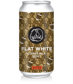 8 Wired Flat White Coffee Milk Stout (440ml)