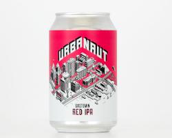 Urbanaut Gastown Red IPA (330ml)