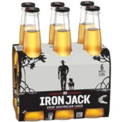 Iron Jack Crisp Lager (6 x 330ml bottles)