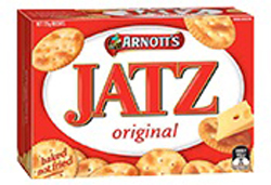 Arnotts Jatz Crackers (225g)