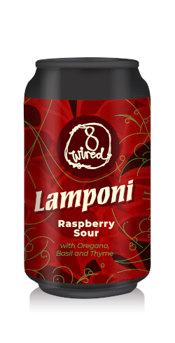 8 Wired Lamponi Raspberry Sour (330ml)