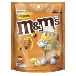 M&Ms Crispy Honeycomb Pouch (145g)