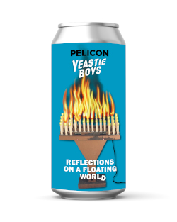 Yeastie Boys Reflections on a Floating World (440ml can)