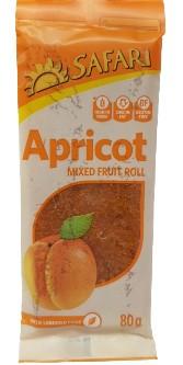 Safari Fruit Roll - Apricot (80g)