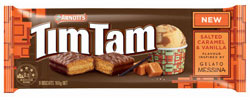 Arnotts Tim Tam Messina - Salted Caramel Vanilla (160g)