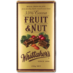 Whittakers Fruit & Nut Chocolate Block (250g)
