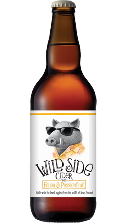 Wild Side Cider Feijoa & Passionfruit (500ml)
