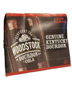 Woodstock Bourbon & Cola (12 x 330ml bottles)