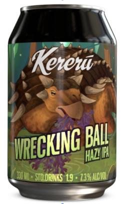 Kereru Wrecking Ball Hazy IPA (330ml)