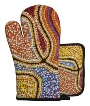 Aboriginal Oven Mitt and Pot Set - Snakes
