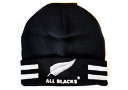 All Blacks Fern Beanie folded
