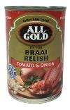 All Gold Braai Relish - Tomato & Onion (410g)