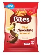 Allens Bites - Mini Chocolate Bananas (120g)