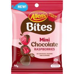 Allens Bites - Mini Chocolate Raspberries (140g)