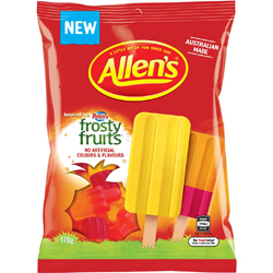 Allens Frosty Fruits  (170g)