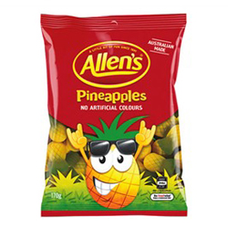 Allens Pineapple (170g)