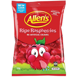 Allens Ripe Raspberries (190g)