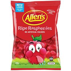 Allens Ripe Raspberries (190g)