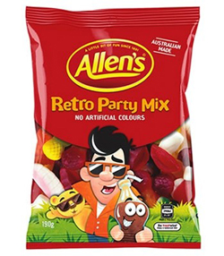 Allens Retro Party Mix (190g)