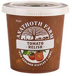 Anathoth Tomato Relish (390g)