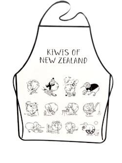 Apron - Busy Kiwis