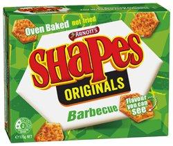 Arnotts Shapes - BBQ - Original Flavour (175g)