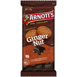 Arnotts Chocolate Block Ginger Nut (170g)