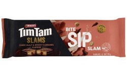 Arnotts Tim Tam Slams - Choc Malt & Sticky Caramel (175g)