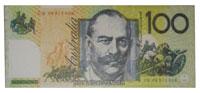 Fridge Magnet - Australian $100 Dollar Note