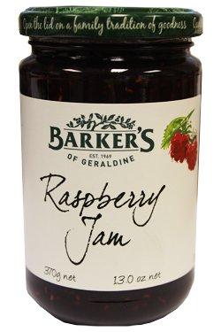 Barkers Raspberry Jam (350g)