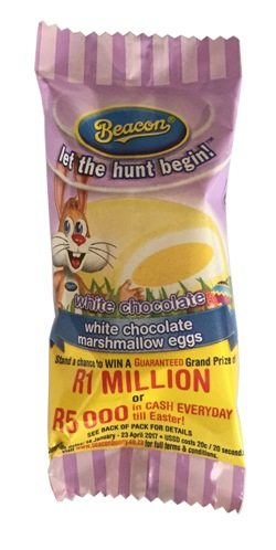 Beacon Marshmallow Egg - White Chocolate (17g)
