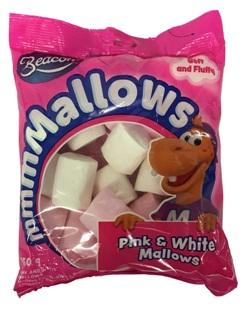 Beacon Marshmallow - Pink & White (150g)