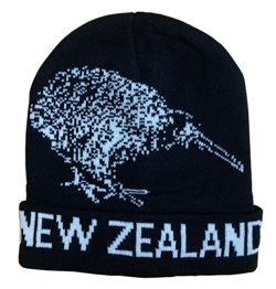 Beanie - New Zealand Kiwi