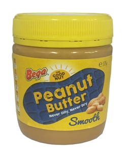 Bega Peanut Butter Smooth (previously Kraft) (375g)