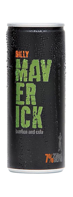 Billy Maverick & Cola (12 x 250ml cans)