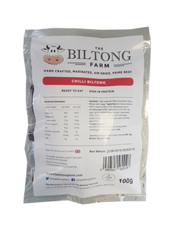 The Biltong Farm - Chilli Beef (100g)