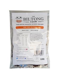 The Biltong Farm - Peri Peri Beef (100g)