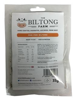 The Biltong Farm - Peri Peri Beef (35g)
