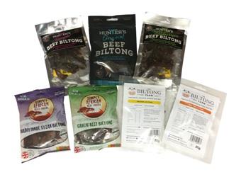 Biltong Taster Variety Pack - 7 packets (245g)