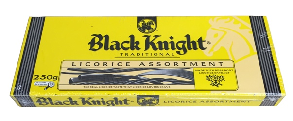 Black Knight Licorice Assortment (250g)