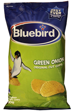 Bluebird Green Onion Chips (150g)