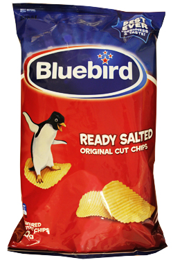 Bluebird Ready Salted Chips (150g)