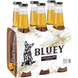 Bluey Ultra Crisp Lager (6 x 330ml bottles)