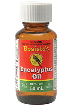 Bosistos Eucalyptus Oil (50ml)